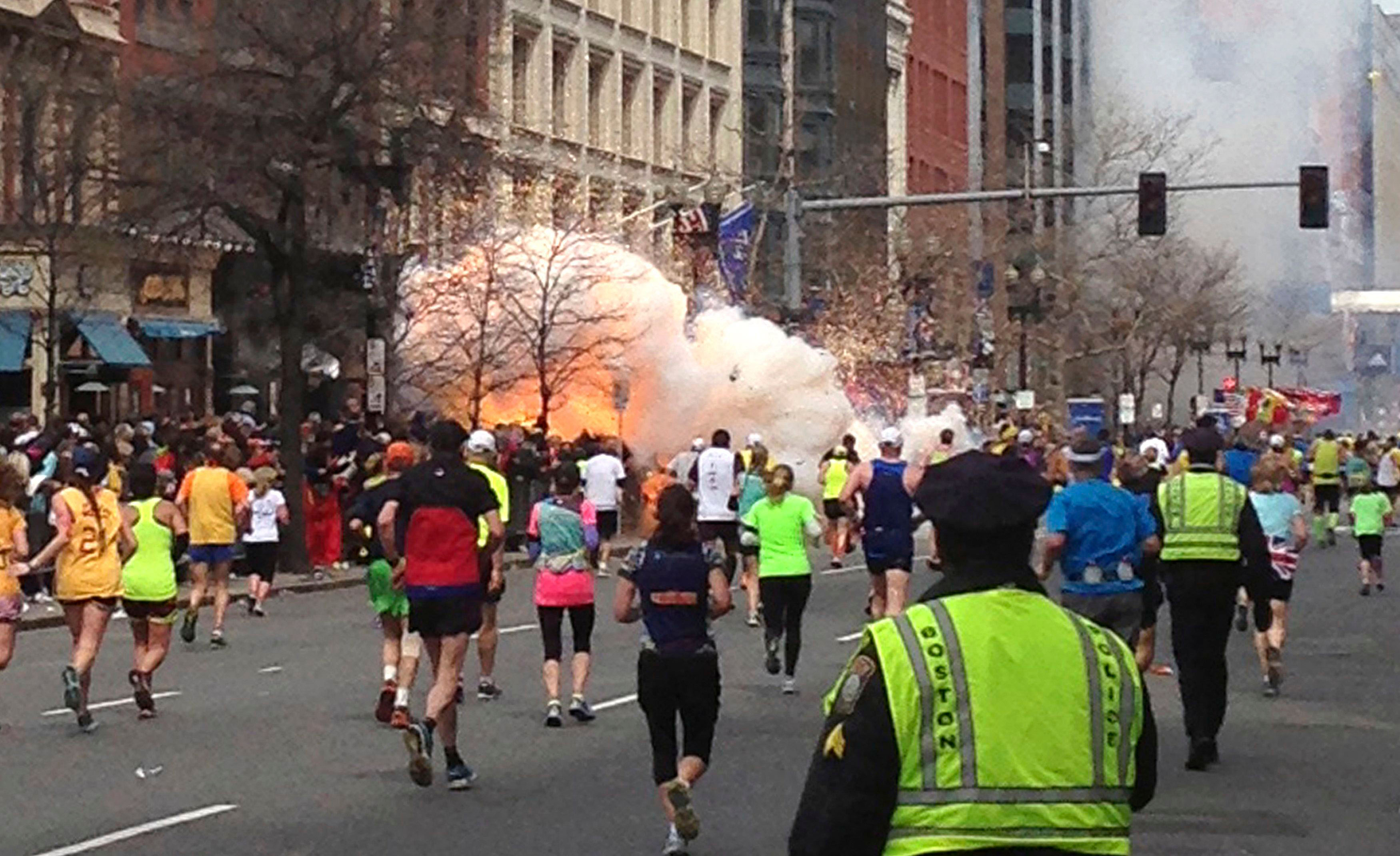 Katherine Russell: First pictures of Boston bomber's Pictures of the boston explosion